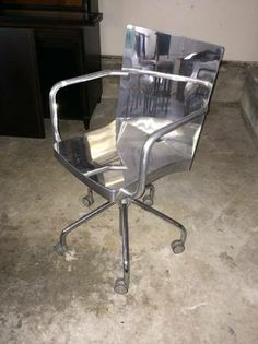 Stainless Steel Office Chair   $500 (west Portal / Forest Hill)