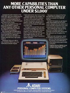 That is awesome!  http://oldcomputers.net/oldads/80s/atari.jpg