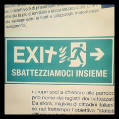 Quasi quasi mi sbattezzo @ UAAR | Salone internazionale del libro di Torino, 2012