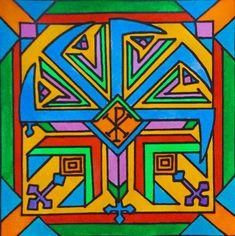 The slavic ornament (my artwork) / Slovanský ornament (má výtvarná práce)