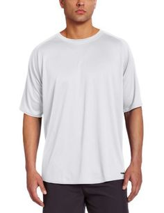 Russell Athletic Men's Short Sleeve Dri-Power Tee, White, Large - http://www.exercisejoy.com/russell-athletic-mens-short-sleeve-dri-power-tee-white-large/athletic-clothing/