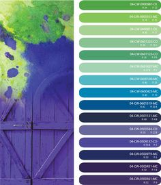 1000 images about kitchen cabinet on pinterest green - Blue and purple color scheme ...