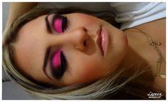Makeup- olho pink