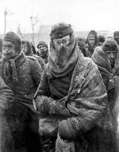 Stalingrad, German POWs, 1943. This was a major blow for the Nazi war machine early 1943.