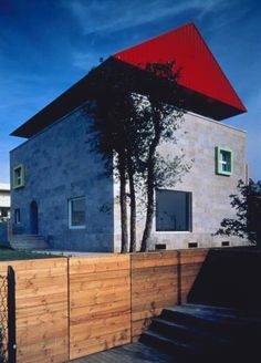 Casa Cei, Empoli (Tuscany) Ettore Sottsass, 1991-93