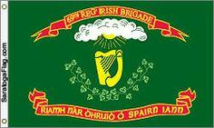 "revoltedstates: ""thenamseal: ""Irish Regimental flags from the American Civil War Civil War Flags, The Wild Geese, British Army Uniform, St Patricks Day Parade, The Clash, American Civil War, Us Army, Civilization, Irish"