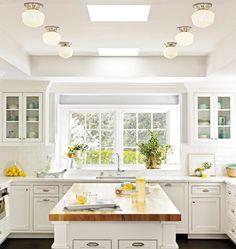 Rejuvenation Kitchen: Thurman  Classic Flush Ceiling Fixture
