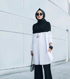 Hijab Fashion Modern Hijab Fashion, Street Hijab Fashion, Hijab Fashion Inspiration, Islamic Fashion, Abaya Fashion, Muslim Fashion, Work Fashion, Hijab Casual, Hijab Chic