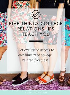 Take a look at these five unique things that college relationships teach you that you've never thought about!