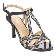 Pls kindly note that theses shoes run one size small. Dress up with these dazzling strappy heels. These attractive shoes features buckle strap and rhinestone embellished upper will flatter your feet. Show your elengance in theses beautiful party sandals.