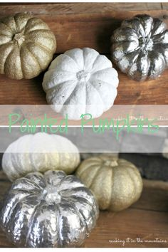 Painted Pumpkins per