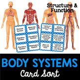 Body systems card sort or lab station activity. Students have to match the structure and function with the body system. Science Lessons, Science Education, Teaching Science, Life Science, Science Labs, Teaching Ideas, Secondary School Science, 7th Grade Science, Middle School Science