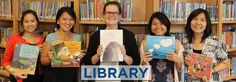 Meet the Library Monitors of the Week: Sneha (6DL) and Mee Pooh (4JO) | Library