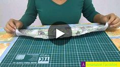Learn how to preach barred in dishcloth very easily .- Aprenda a pregar barrados em pano de prato com muita facilidade e sem usar passa… Learn how to nail barred cloths very easily and without using tape. Scrubs Pattern, Cloth Diaper Pattern, Youtube Design, Quick Makeup, Modern Pillows, Diaper Bag Backpack, Sewing Projects For Beginners, Cloth Diapers, Sewing Hacks