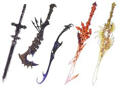 basically revised the swords you see in the angels and demons series. I like sharp objects, do you?