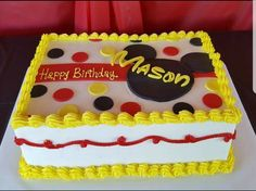 Mickey Mouse Birthday Party, Mickey Mouse Birthday Cake, Mickey Mouse Party Ideas, Disney Birthday, Party Decor, Second Birthday Ideas, Mickey Mouse Party, Mickey Cake