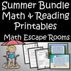 5th Grade Classroom, 4th Grade Math, Kindergarten Math, New School Year, Summer School, Classroom Resources, Teaching Resources, Summer Programs, Teaching Grammar
