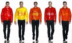 Moda Men, Red Leather, Leather Jacket, Fashion Moda, Html, Motorcycle Jacket, Jackets, Men Fashion, Style