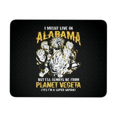 Super Saiyan Alabama Mouse Pad - TL00088MP