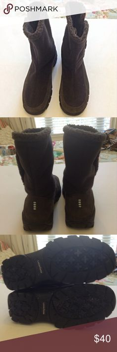 Land's End Rubber-soled Boots Very good used condition, no flaws Lands' End Shoes Winter & Rain Boots