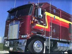 Classic cabover Glen Rice, Kenworth Trucks, Semi Trucks, Rigs, Badass, Classic, Vehicles, Car, Classical Music