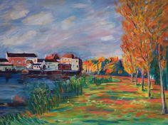 Alfred Sisley study