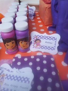"Photo 1 of 52: Dora the Explorer / Birthday ""2nd a-DORA-ble Birthday Celebration"" | Catch My Party"
