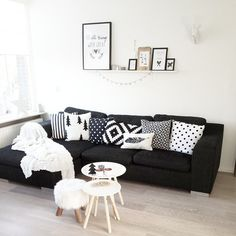 Black Sectional Living Room Ideas Wall 20 Best Couches Images Sofa Diy Instagram Photo Feed Decorliving