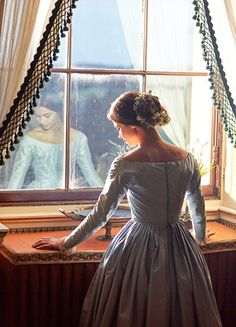 """fuckyeahcostumedramas: """" Jenna Coleman in 'Victoria' (2016). """""""