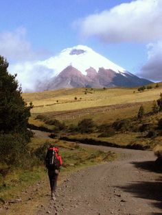 Cotopaxi, Ecuador. One of the highest active volcanoes in the world