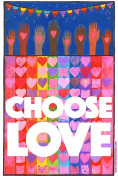 Get ready for the Womens' March with this poster in my #etsy shop: CHOOSE LOVE poster benefits Planned Parenthood http://etsy.me/2Dmjc4p #art #chooselove #valentinesday #pink #red #plannedparenthood #poster #love #valentine #womensmarch