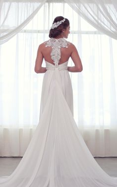 I love the lace back!