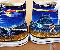 Street Fighter shoes