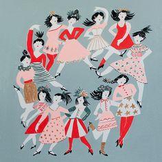 Twelve ladies dancing - Emily Isabella