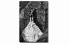 The wedding dress  - 11x8 or 16,5x11 inches fine art print- Signed - Printed by a professional