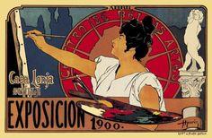 Unknown - Centro de las Bellas Artes Exposicion 1900, 1900 - art prints and posters