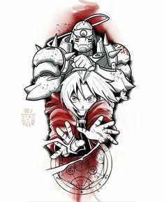 Full Arm Tattoos, Sleeve Tattoos, Ink Illustrations, Illustration Art, Bleach Tattoo, Body Reference Drawing, Cartoon Sketches, Anime Tattoos, Tattoo Stencils