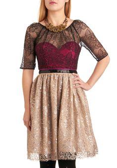 Raspberry Champagne Cocktail Dress- Modcloth $319.99