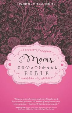 Every mom needs to take a few moments for herself each day to find refreshment, encouragement, stimulation, and inspiration in the Word of God. A full year of weekday and weekend devotions, written by Elisa Morgan, President Emerita of Mothers of Preschoolers (MOPS), are combined with the NIV Bible text in this hardcover Bible to offer you fresh perspectives on the challenges moms face daily.