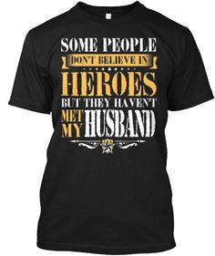 My Husband Is a Hero - Flowy Tanks