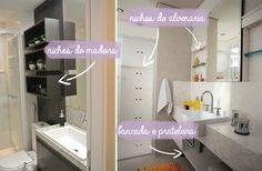 Dicas para banheiros pequenos | Comprando Meu Apê | Comprando Meu Apê