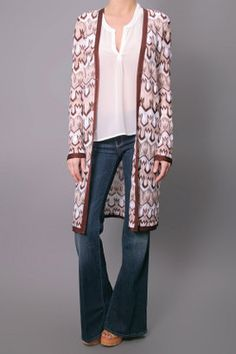 ShopStyle: Missoni Jole Open Cardigan Sweater