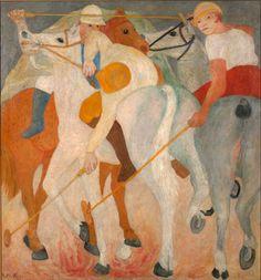 Renato Birolli (1905-1959) - The Polo Players, 1933