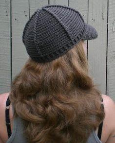 crochet cap with bill free pattern