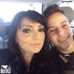 Eyshila e seu filho Lucas