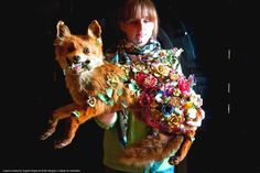 The Recycled Taxidermy Art of British Artist Angela Singer