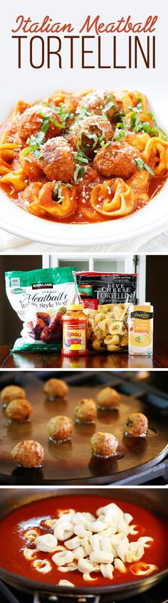 Italian Meatball Tortellini | 7 Easy Dinners To Make During Your Busy Week