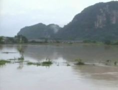 February 26, 2013 — Torrential rain and severe floods are impacting several communities in southern Thailand.