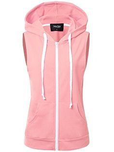 f0a8857e7133d1 JayJay Women Athlete Stretchy Full Zip Jersey Fashion Running Hoodie Vest  Jacket