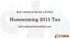 3 Tanning Lotions for a Perfect Homecoming Tan